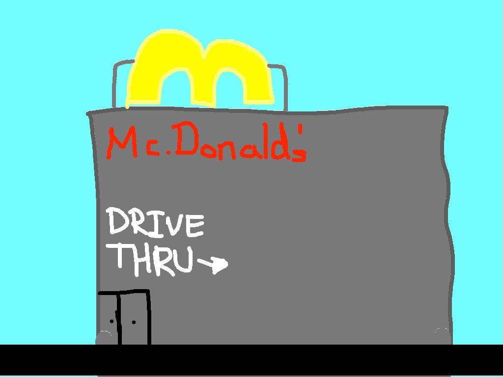 background scene - Drive Thru
