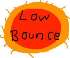 low bounce - drawing