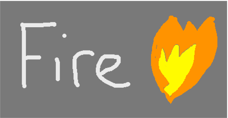fire - drawing