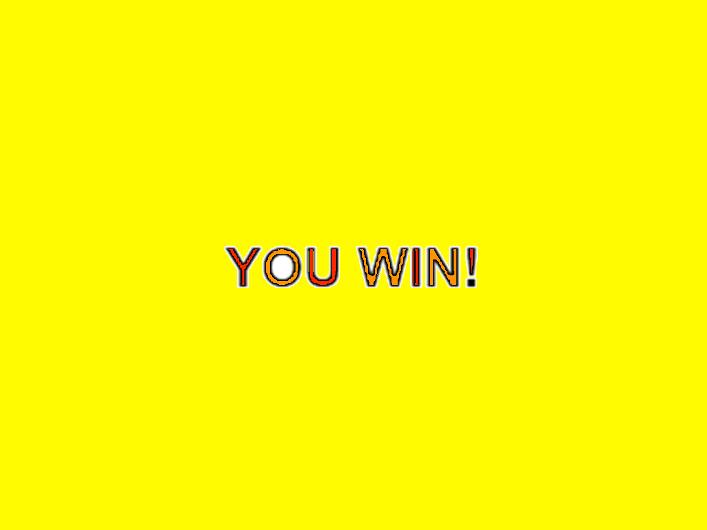 You win - image