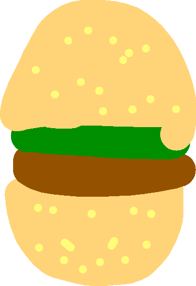 cheeseburger - drawing