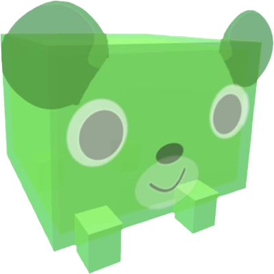 Tier 15 Pets - Green Gummy Bear