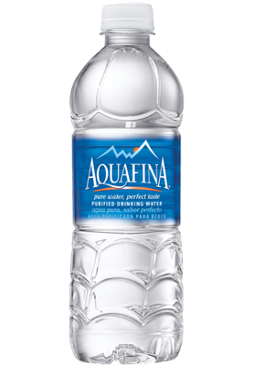 bottle - aquafina