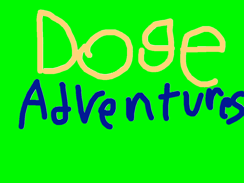 background scene - Doge adventures