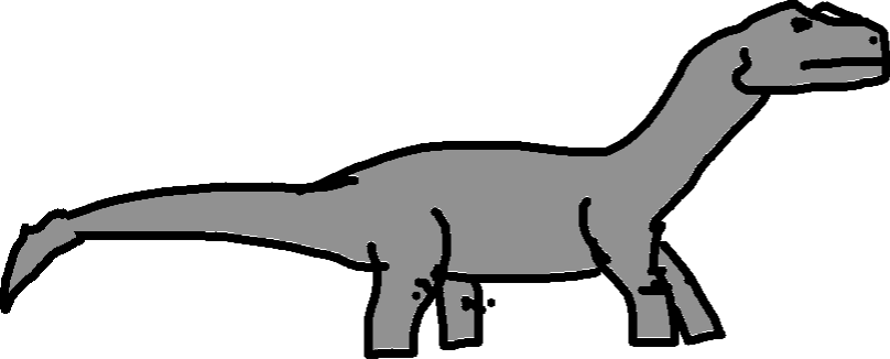 Apatosaurus - drawing copy