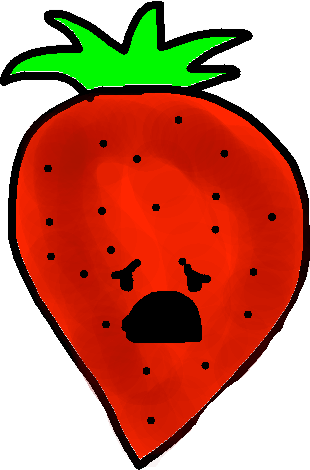 Strawberry - drawing