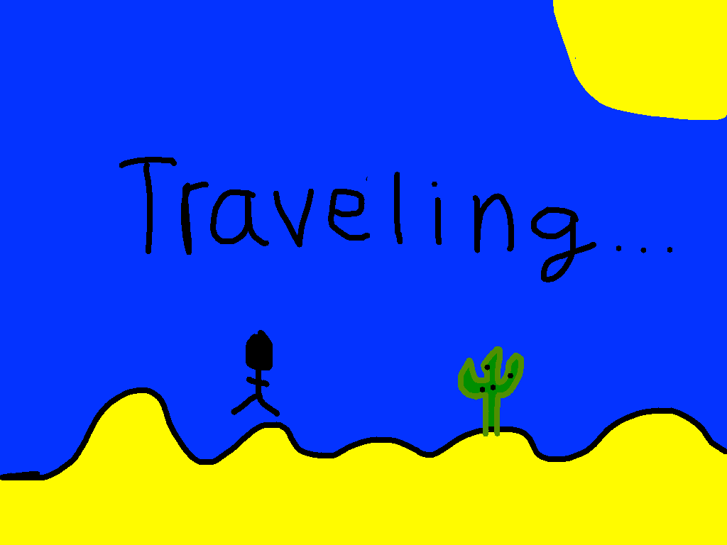 background scene - travel