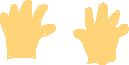 hands - drawing
