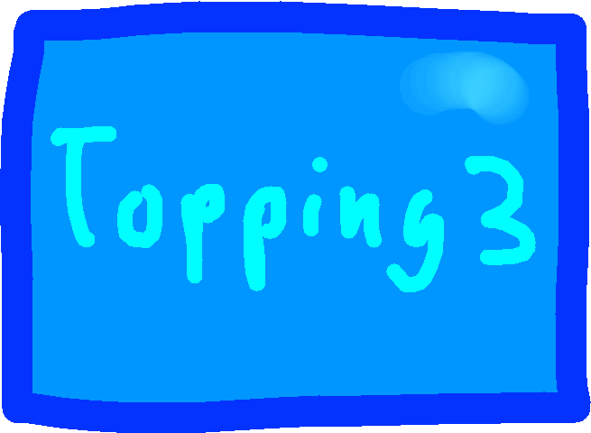 Topping 3 Button - drawing