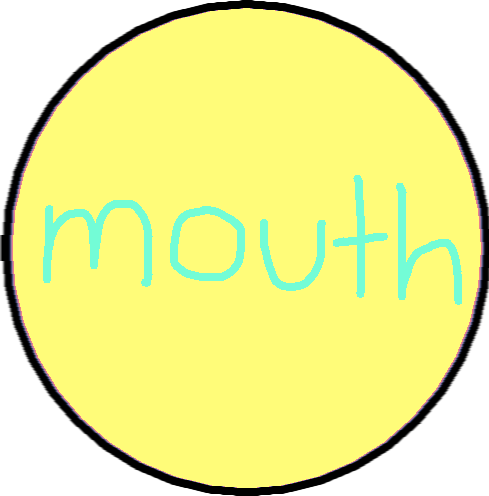 button 4 - mouth button