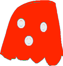 Red Ghost - drawing