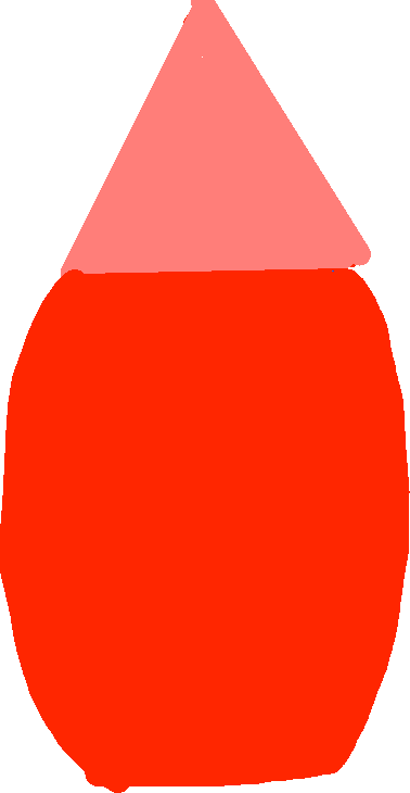 red - drawing