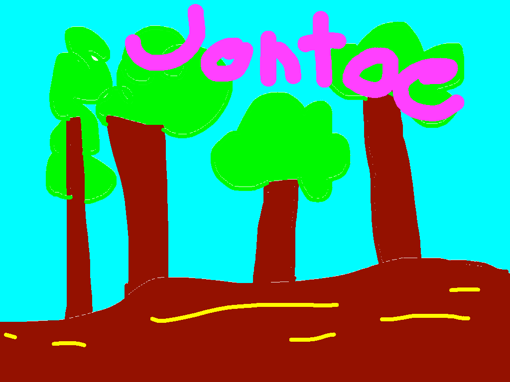 background scene - Johto