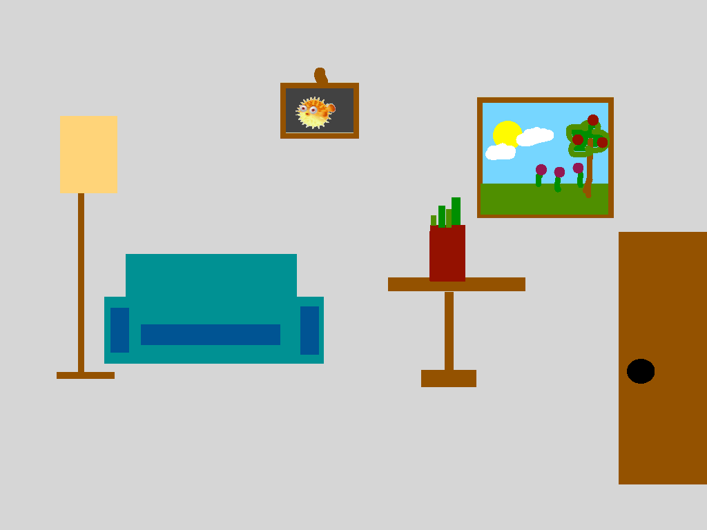 background scene - livingroom