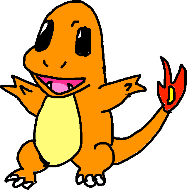 charmander - drawing