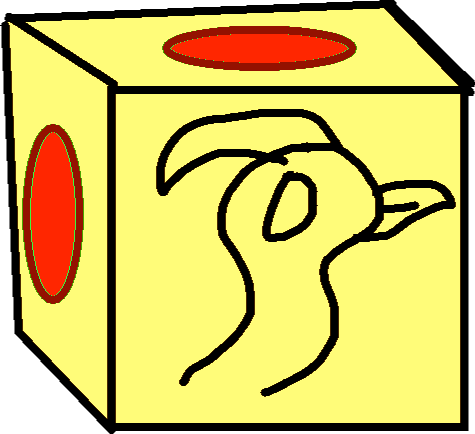 Gold Crate - drawing