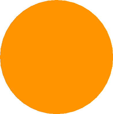 drawing - orange