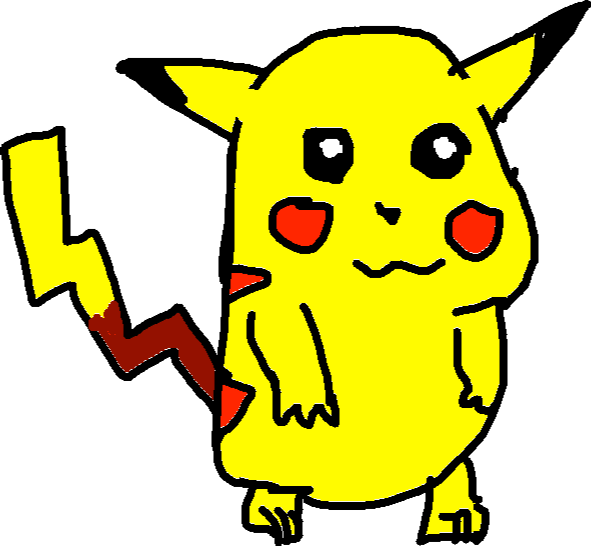pikachu - drawing