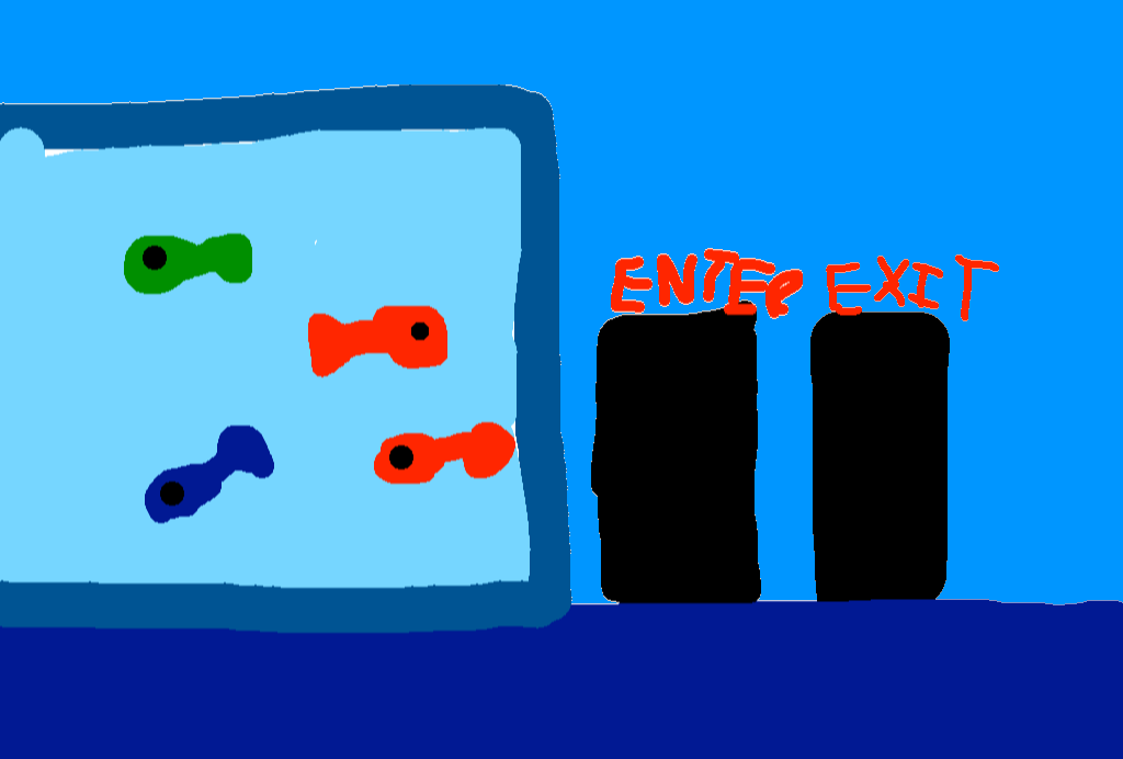 background scene - aquarium 1