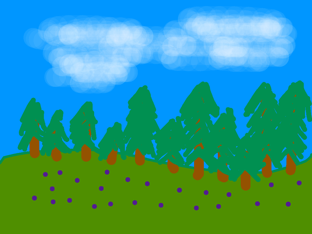 background scene - drawing7