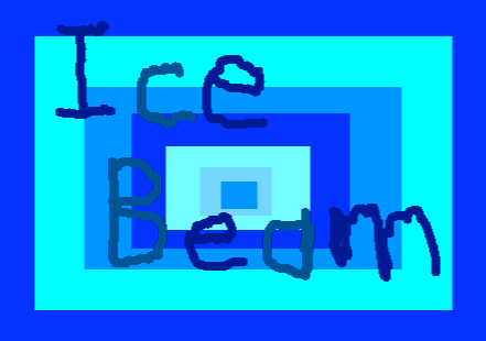 Ice Beam Button - drawing