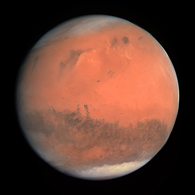 background scene - Mars
