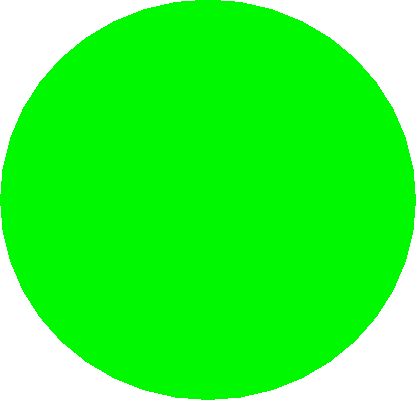 drawing - green