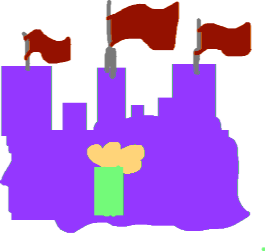 castle - drawing
