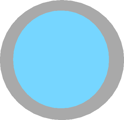 cyan button - cyan button off