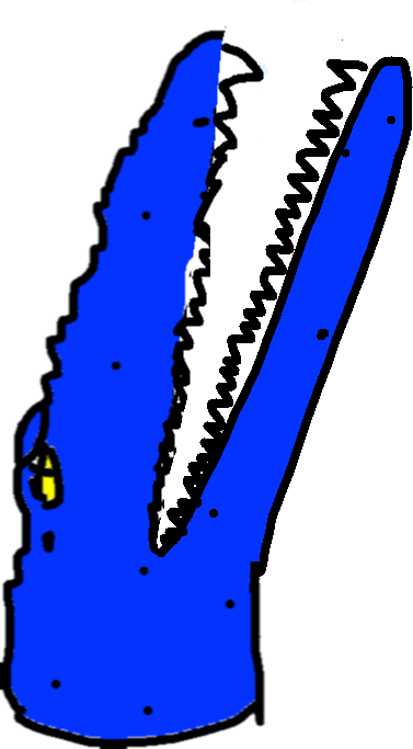 Mosasaur Bite - drawing copy copy copy copy