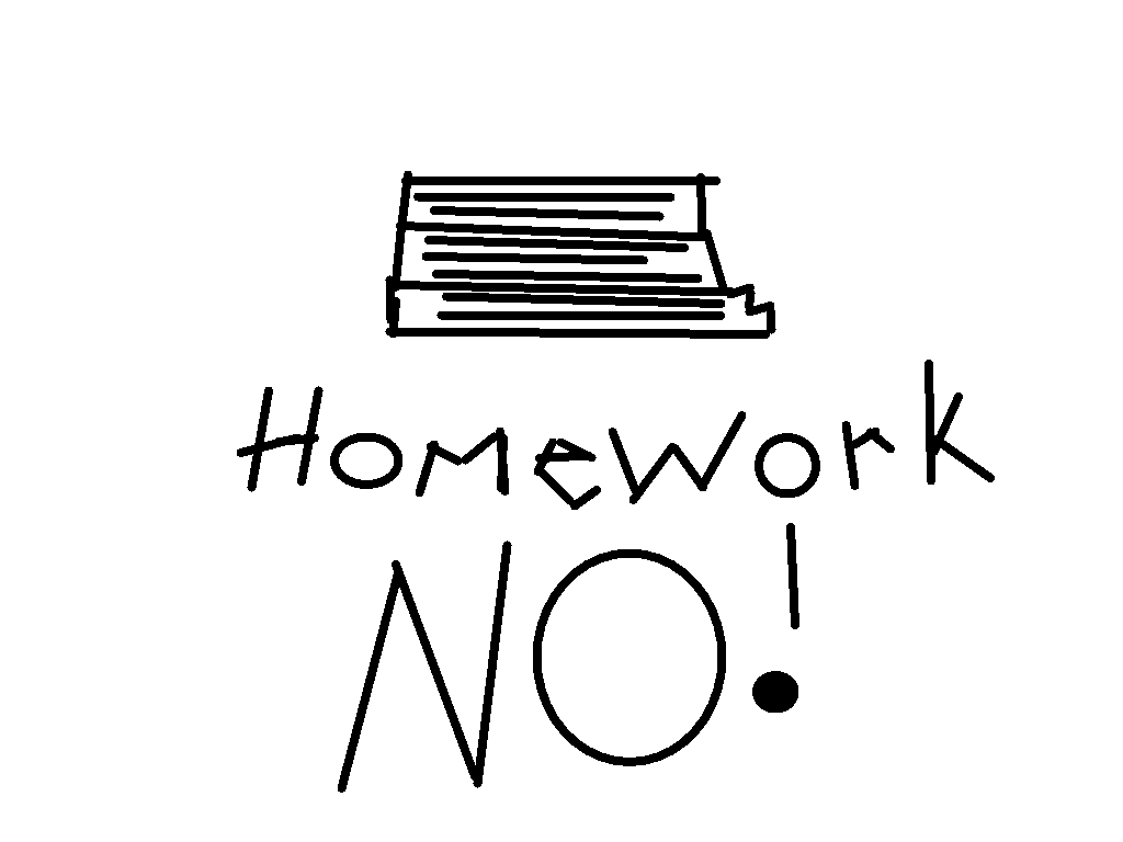 background scene - Homework scene