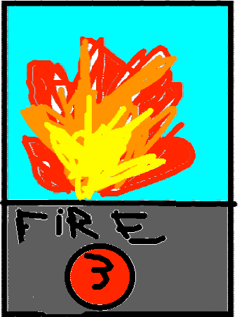 card holder 12 - fire