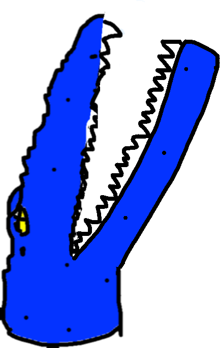 Mosasaur Bite - drawing copy copy copy copy copy