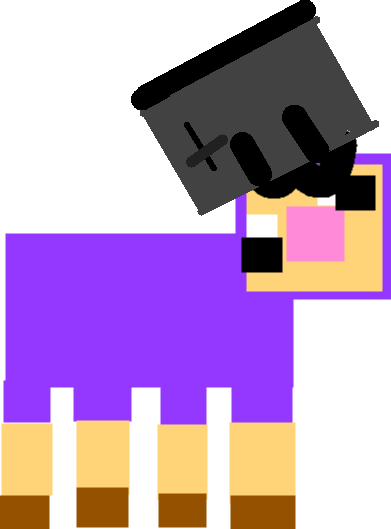 Purple Shep - shep toaster