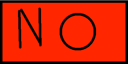 No button - 1