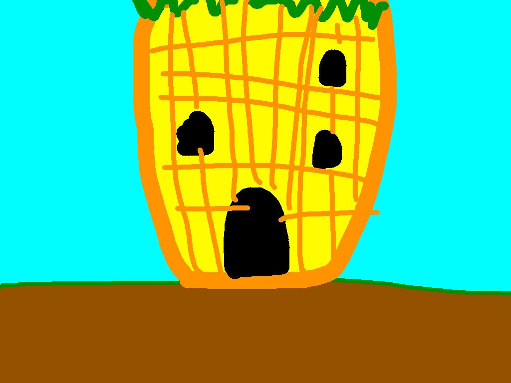 background scene - pinaple