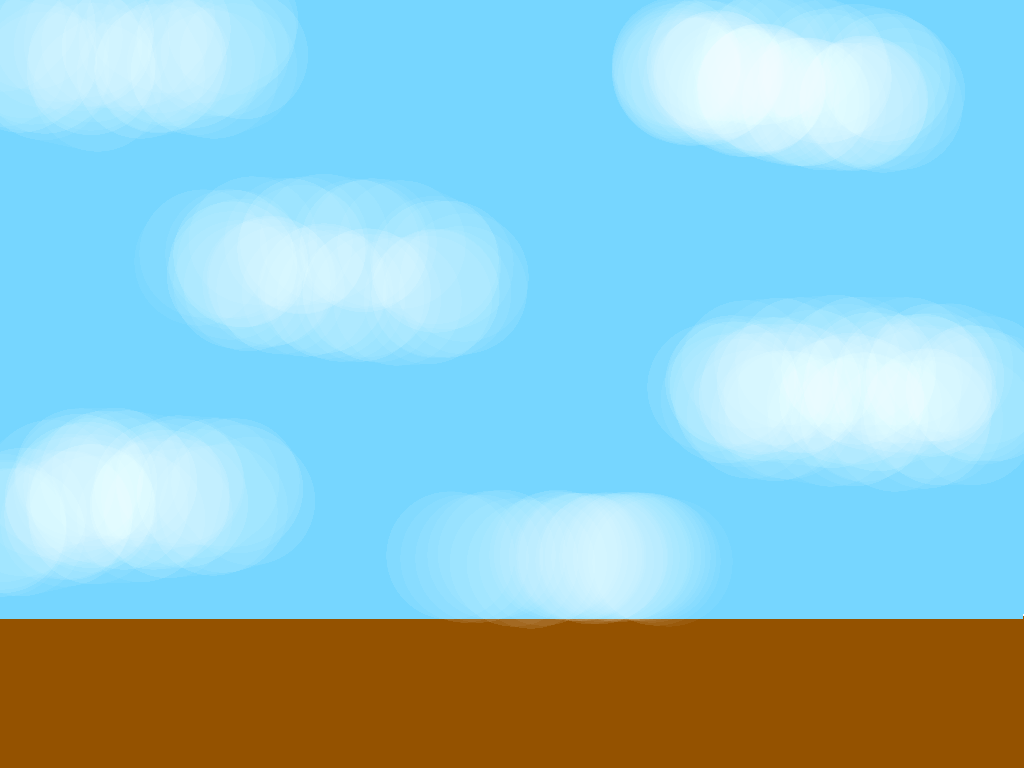 background scene - blue