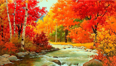 background scene - Fall