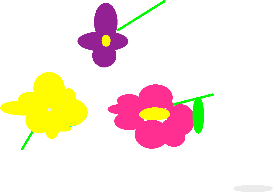 flowers - drawing