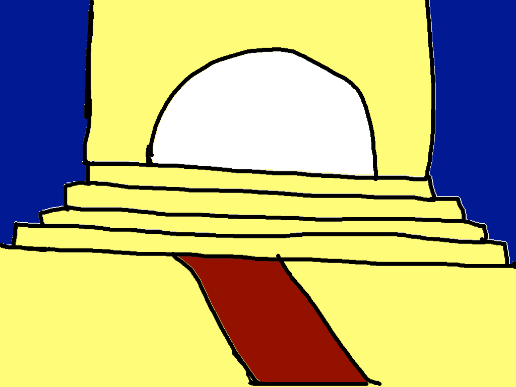 background scene - stairs
