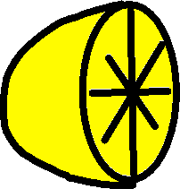 lemon - drawing