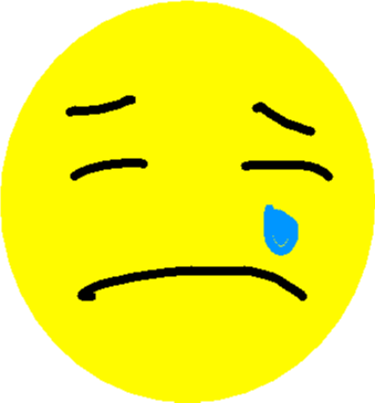 Emoji Faces - Sad Emoji