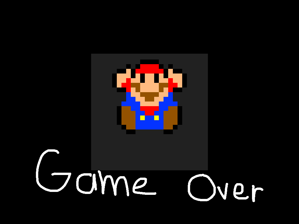 background scene - Game Over Screen