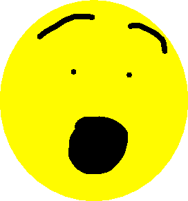 Emoji Faces - Shocked Emoji