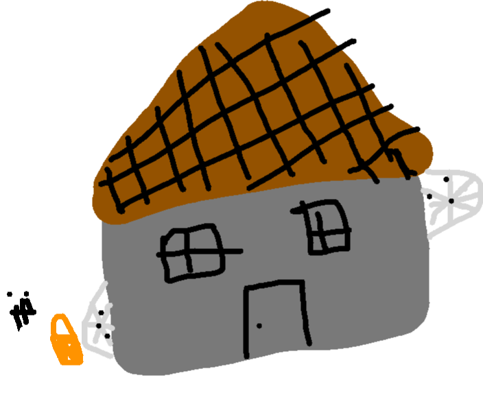 drawing - House
