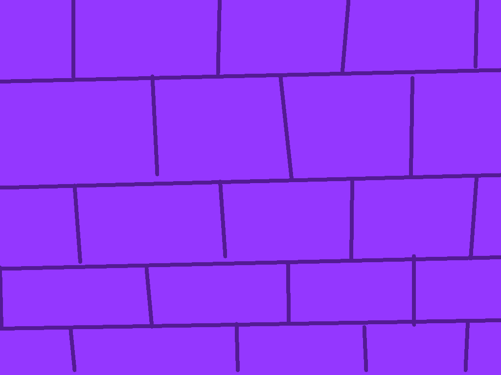 background scene - purple brick wall