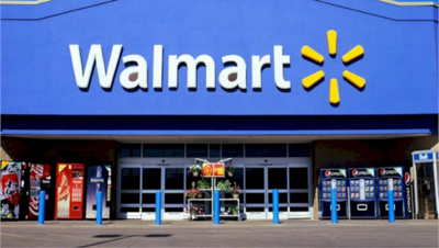 background scene - Walmart