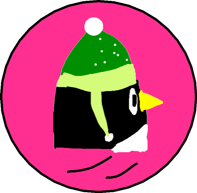 Penguin Eeets Button - Normal