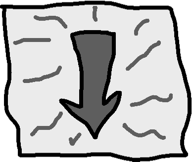 Down button - drawing