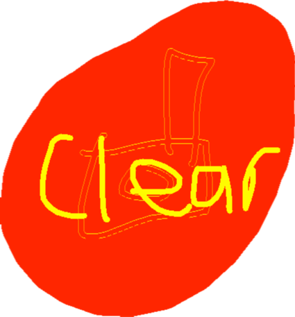 clear button - drawing